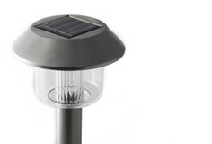 τροφοδοτημένος ηλιακός Στοκ εικόνες με δικαίωμα ελεύθερης χρήσης