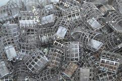 Τροφοδότες κλουβιών Στοκ Φωτογραφίες