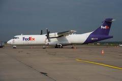 Τροφοδότης ATR 72 της Fedex Στοκ Εικόνες