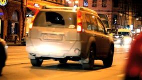 Τροχαίο ατύχημα απόθεμα βίντεο