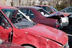 Τροχαίο ατύχημα Στοκ εικόνα με δικαίωμα ελεύθερης χρήσης