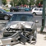 τροχαίο ατύχημα Στοκ Φωτογραφία