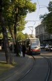 τροχιοδρομική γραμμή Στοκ εικόνα με δικαίωμα ελεύθερης χρήσης