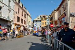 Τροχόσπιτο δημοσιότητας, γύρος de Γαλλία 2017 Στοκ Εικόνες