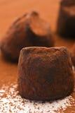 Τρούφα σοκολάτας Στοκ φωτογραφίες με δικαίωμα ελεύθερης χρήσης
