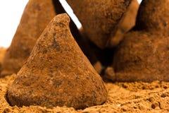 Τρούφες σοκολάτας Στοκ εικόνες με δικαίωμα ελεύθερης χρήσης