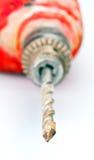 Τρυπάνι και δυαδικά ψηφία χρησιμοποιούμενα Στοκ φωτογραφία με δικαίωμα ελεύθερης χρήσης