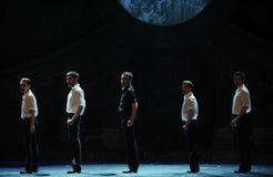 Τρυπάνι-Ο ιρλανδικός εθνικός χορός βρυσών χορού Στοκ Φωτογραφίες