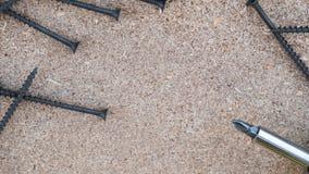 Τρυπανιών κατσαβιδιών πώλησης εργαλείων DIY copyspace Στοκ φωτογραφία με δικαίωμα ελεύθερης χρήσης