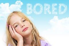 τρυπημένο παιδί Στοκ Φωτογραφία