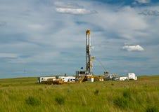 τρυπώντας με τρυπάνι πετρέλαιο Στοκ Εικόνα