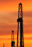 τρυπώντας με τρυπάνι πύργοσ στοκ φωτογραφία με δικαίωμα ελεύθερης χρήσης