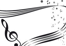 τρυφερό musique de Στοκ εικόνες με δικαίωμα ελεύθερης χρήσης
