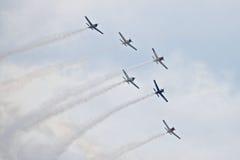 Τρωική στρατιωτική κληρονομιά airshow 2014 ιππέων στοκ φωτογραφία