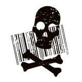 τρόμος κώδικα Στοκ Εικόνες
