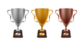 Τρόπαιο, βραβείο, νίκη, ανταγωνισμός απεικόνιση αποθεμάτων