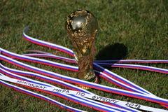 Τρόπαιο Παγκόσμιου Κυπέλλου Στοκ φωτογραφία με δικαίωμα ελεύθερης χρήσης