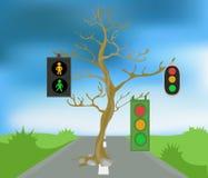 τρόπος δέντρων Στοκ φωτογραφία με δικαίωμα ελεύθερης χρήσης