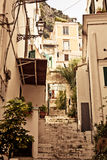 Τρόπος ζωής κατωφλιών της Αμάλφης, Ιταλία. Στοκ εικόνα με δικαίωμα ελεύθερης χρήσης