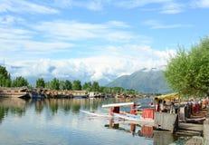 Τρόπος ζωής στη λίμνη DAL, Σπίναγκαρ Στοκ εικόνα με δικαίωμα ελεύθερης χρήσης