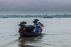 Τρόπος ζωής των του Μπαγκλαντές λαών στο μουσώνα στοκ φωτογραφίες με δικαίωμα ελεύθερης χρήσης