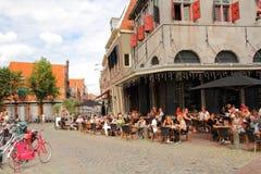 Τρόπος ζωής Hoorn οι Κάτω Χώρες Στοκ εικόνα με δικαίωμα ελεύθερης χρήσης