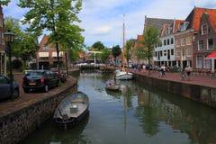 Τρόπος ζωής Hoorn οι Κάτω Χώρες Στοκ Φωτογραφίες