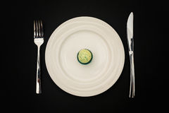 Τρόπος διατροφής επάνω Στοκ Φωτογραφία