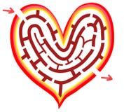 τρόπος καρδιών Στοκ φωτογραφίες με δικαίωμα ελεύθερης χρήσης