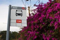 Τρόπος να τοποθετηθεί Tibidabo Στοκ φωτογραφία με δικαίωμα ελεύθερης χρήσης