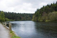 Τρόπος νερού στο ST Mullins, riverbank περίπατος Στοκ Εικόνες