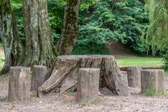 τρόπος πάρκων πόλεων Στοκ εικόνα με δικαίωμα ελεύθερης χρήσης