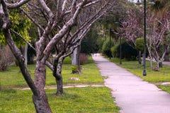 τρόπος πάρκων στοκ εικόνα
