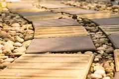 Τρόπος περιπάτων τούβλου Στοκ φωτογραφία με δικαίωμα ελεύθερης χρήσης