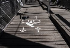 Τρόπος ποδηλάτων στοκ φωτογραφίες με δικαίωμα ελεύθερης χρήσης