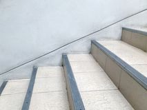 Τρόπος σκαλοπατιών στο κτήριο Στοκ φωτογραφίες με δικαίωμα ελεύθερης χρήσης