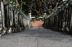 Τρόπος σκαλοπατιών στο μεγάλο παλάτι Στοκ Φωτογραφίες