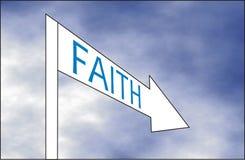 Τρόπος της πίστης Στοκ Φωτογραφίες