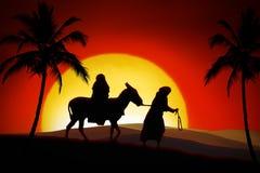 τρόπος Χριστουγέννων Στοκ Φωτογραφίες