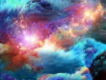 Τρόπος Fractal του χρώματος ελεύθερη απεικόνιση δικαιώματος