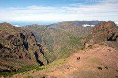 Τρόπος Pico do Arieiro, Μαδέρα Στοκ Φωτογραφίες