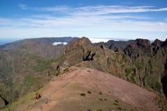 Τρόπος Pico do Arieiro, Μαδέρα Στοκ Εικόνες