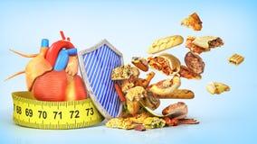 τρόφιμα έννοιας υγιή απεικόνιση αποθεμάτων