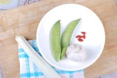 τρόφιμα ακατέργαστα Στοκ Εικόνες