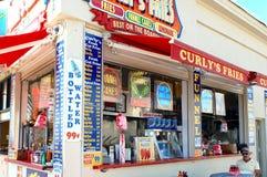 Τρόφιμα ακτών του Νιου Τζέρσεϋ στοκ εικόνα