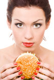 τρόφιμα ανθυγειινά Στοκ φωτογραφία με δικαίωμα ελεύθερης χρήσης
