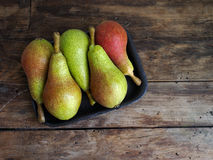Τρόφιμα αχλάδια Στοκ Φωτογραφία