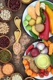 Τρόφιμα για την υγεία και καλά - όντας Στοκ εικόνα με δικαίωμα ελεύθερης χρήσης