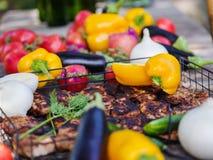 Τρόφιμα για το πικ-νίκ έξω στοκ φωτογραφίες με δικαίωμα ελεύθερης χρήσης