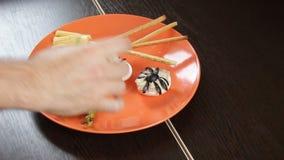 Τρόφιμα για Hellowin απόθεμα βίντεο